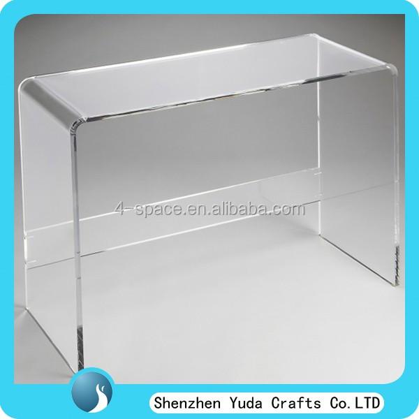 Multifonction plexiglas end table table basse clair acrylique console table t - Table basse acrylique ...