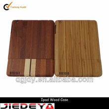 high quality new design wood case for ipad mini.