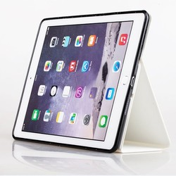 For iPad Air 2 Magnetic Slim Leather Smart Stand Cover Case