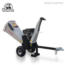 2 hours replied CE certificate Honda motor large industry self-feeding portable hot selling wood chipper/ wood chipper machine