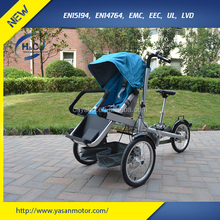 best selling products full alloy mother baby bike carrier, good baby stroller made in China