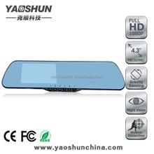 4.3'' screen user manual hd 720p car camera dvr video recorder car black box