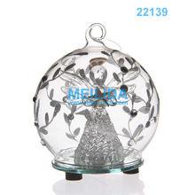 fashional style led glass light ball for christmas decoration