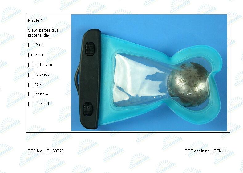 PVC phone waterproof bag case ,waterproof case For Iphone 5 5s