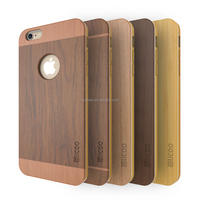 newest selling High Quality Dark Walnut Natual Bamboo Hard Real Wood Phone Case for iphone 5s