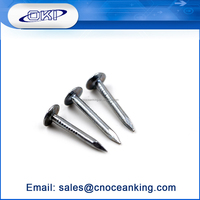 Hot sale umbrella head high quality galvanized roofing nails