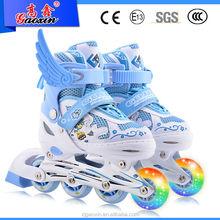 GX-8905 Three wheel roller flash light skate shoes