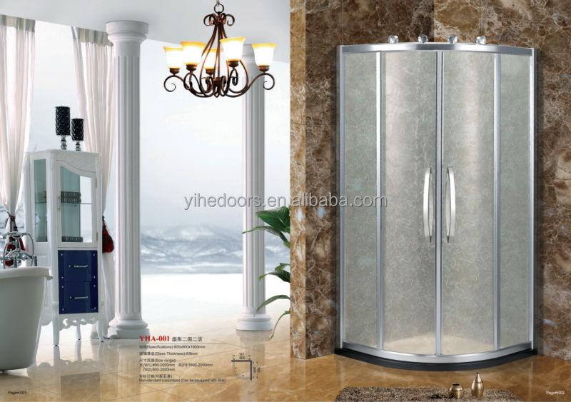상단 판매!! frameless 슬라이딩 도어 샤워 실, 완전한 샤워 실 문 ...