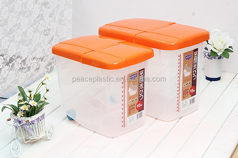 2014 Hot Sale Good Quality 5kg 15kg Plastic Rice Container Buy