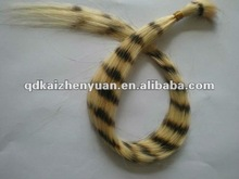 TIGER COLOR silky straight indian remy human hair bulk
