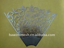 hongao stainless steel etching work of art ,factory produce