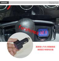 High Quality DC12V 24V Car Digital LED Engine Battery Voltage Electric Volt Meter Monitor Indicator Tester Voltmeter Wholesale
