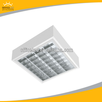 T5 Surface Troffer light fluorescent lamps IP 65 louver fitting credict insurance product