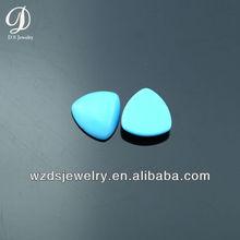 Wholesale synthetic gemstone cabochon turquoise
