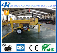 CE Approved Garden Equipment Vertical Or Horizontal Power/Log Splitter Wood Chipper Tractor Competitive Price