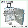 Shanghai Precio de lista de la Unidad Dental Portátil con Dental Luz quirúrgica GU-P 204