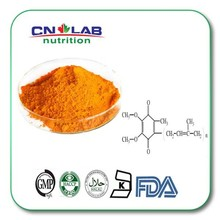 High Quality Fermentation Natural 99% Coenzyme q10 in cosmetics