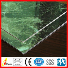 Rocky grain curtain wall decorative aluminum composite panel