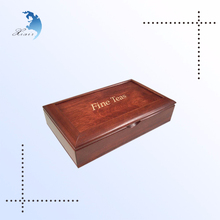 vintage foldable gift storage box customized fancy gift branded wooden decoration box