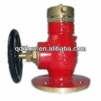 Straight pattern marine fire hydrant