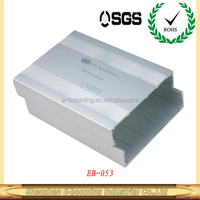 electronical aluminum extrusion enclosure/aluminum housing for PCB/aluminum extrusoin enclosure factory in China