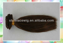 Wholesale yaki straight color #33 indian remy hair