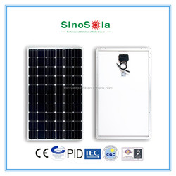 Mono Solar Panel 250W Made by Advanced Fully-Automatic Solar Module Production&Assembly Line With High Quality and Uniformity