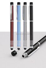 business stylus metal ball pen with pin can open 4G phone card