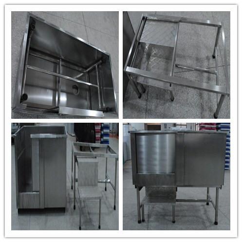Durable Stainless Steel Dog Bath Tub /H-104