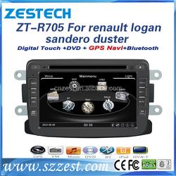 7 inch car dvd+gps+bluetooth+mp3 mp4 car multimedia player for Renault Logan SANDERO/DUSTER