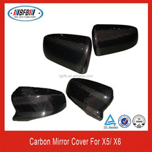 M Style Carbon X5 X6 Mirror covers,Rear View Side Car Mirror For BMW