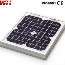 Photovoltaic See Through Solar Panels Used for Mobile Homes