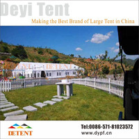 Elegant Wedding Party Tent with Aluminum Frame Structure for Sale - 30x60m