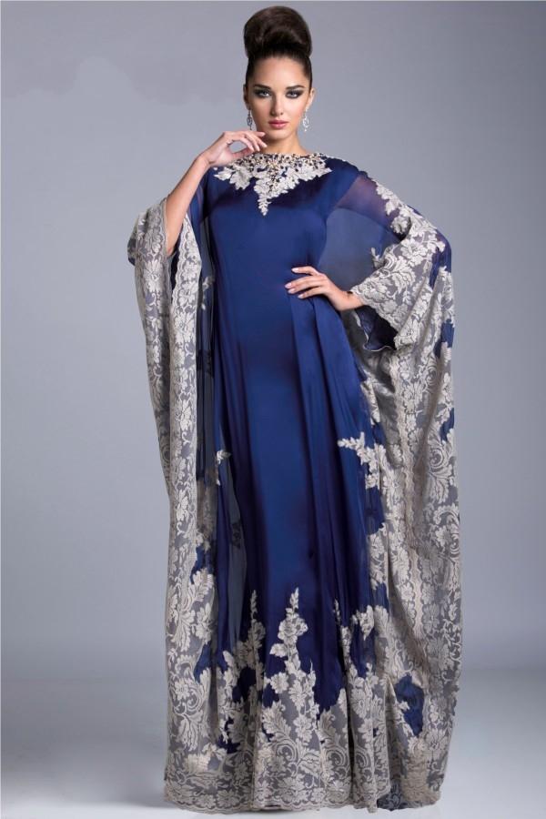 Robe de soiree longue indienne