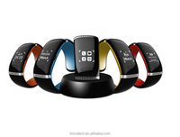 L12S Smart Bracelet 2015 Sport Fitness Pedometer Bluetooth Wristband For Andriod, IOS Phone