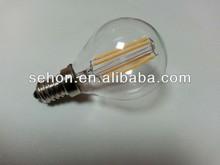 2w 3w LED light bulbs for home 110v energy saving led lamp Ra 80 led filament bulbs