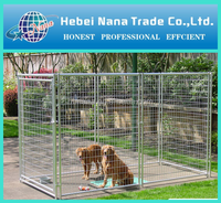 Large Welded Dog Kennel / dog cages / wire mesh animal cages