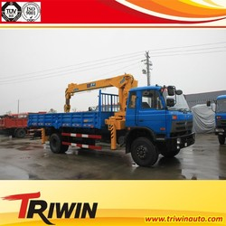factory sale discount price 95 hp 110 130 160 hp 190 hp 210 hp 4x2 3.5 t crane with lorry manufacture