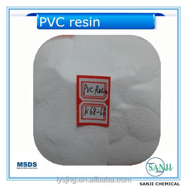 Sg3 / SG5 / SG6 / SG7 / SG8 medidor de resina de PVC con K valor K67 / K65 / K68