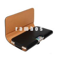 PU Leather Belt Clip Holster Pouch Cases Cover Capas Para Celular Fundas for Samsung Galaxy S6 Edge