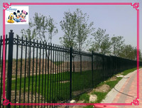 aluminium folding fence wood plastic composite (wpc) picket fence