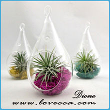 fashion 2015 colored glass vases decoration