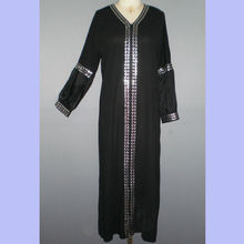 Islamic maxi size muslim women jubah abaya MR-1009#