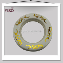 plastic curtain accessories for curtain rod high quality plastic curtain ring made in china