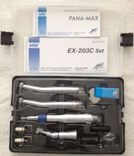 2 high speed and 1 low speed handpiece Kit handpiece kit dental low speed
