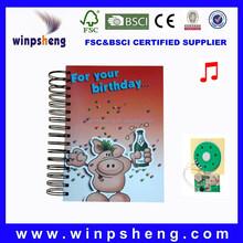 Custom Creative Office Agenda Ring Binder Notebook With Pen