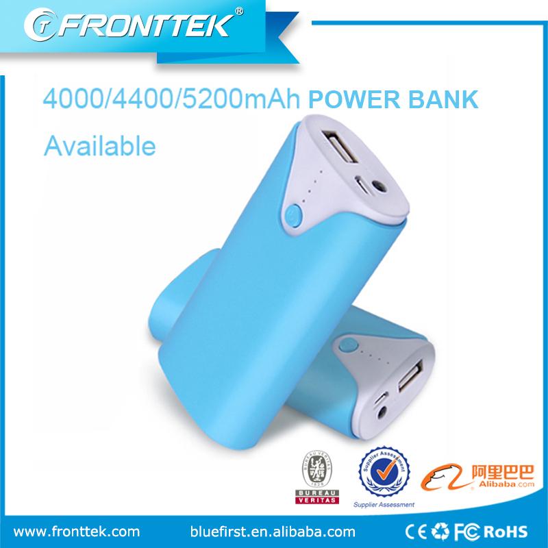 Preço de fábrica Por Atacado de Grande Capacidade 5200 mah banco de energia móvel Portátil