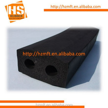 EPDM extruded rubber .Wing with No Bore Marine Fender