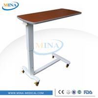 MINA-G06-F portable mobile hospital adjustable over bed table