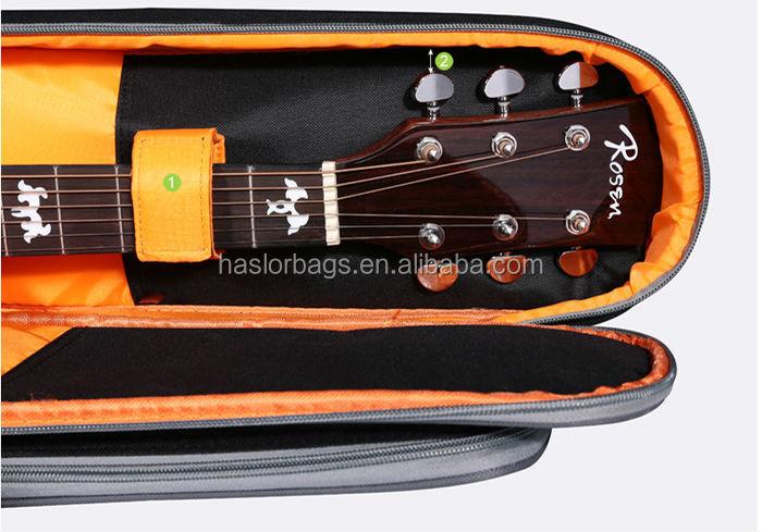 2015 très cool et de haute qualité sac à dos de la guitare avec la chine usine